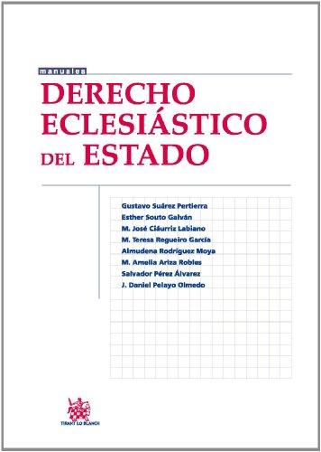 Derecho Eclesiástico del Estado (Manuales Derecho) (Spanish Edition)