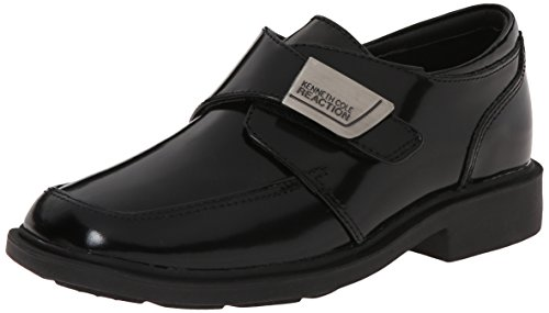 (Kenneth Cole Reaction Fast Cash Loafer (Little Kid/Big Kid),Black Box Leather,13 M US Little Kid)