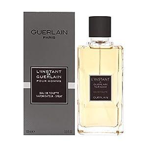 Guerlain L'instant Pour Homme Eau de Toilette Spray, 3.3 Ounce