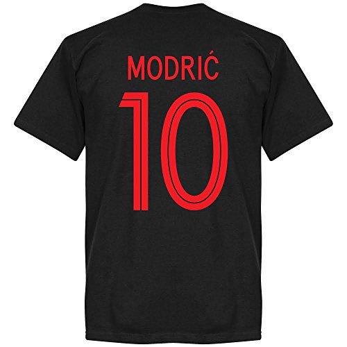 b09c2cfabcf 2018 2019 REAL MADRID  10 MODRIC KIDS AWAY SOCCER JERSEY   SHORTS YOUTH  SIZES. Croatia Modric 10 Team T-Shirt - Black - L