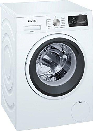 Siemens WM14T411 Waschmaschine Frontlader / A+++ / 1400 UpM / Weiß / iQdrive / Warmwasseranschluss
