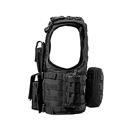 YAKEDA Outdoor CS Game Vest Adjustable Fit Adult 900D Nylon-E88005