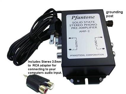 Amazon.com: pfantone Amp 2 Fonógrafo pre-amplifier: Home ...