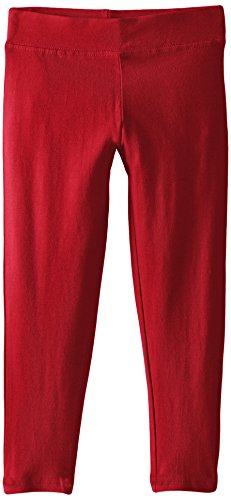 French Toast Girls' Toddler Solid Legging, red, 2T