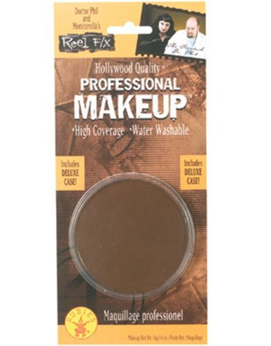 Rubie's Costume Co Fx Large Round Makeup-BRN Costume 0.6 oz., Brown]()