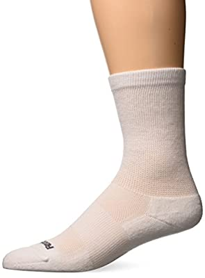 Feetures - Therapeutic Cushion - Crew - Athletic Running Socks for Men and Women
