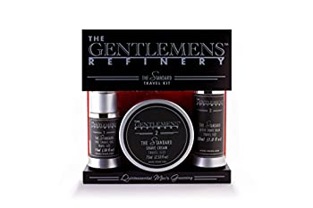 The Gentlemens Refinery 'The Standard' TSA Travel Trilogy - All-Natural and Organic
