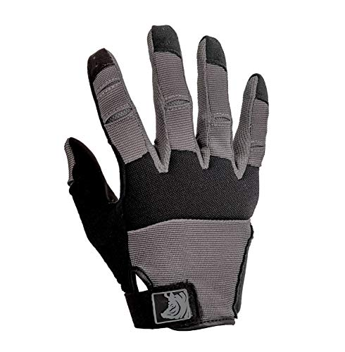 PIG Full Dexterity Tactical (FDT) Alpha Gloves - Carbon Grey - Large