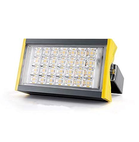 HUI LIGHT Seguro Foco Proyector LED,Jardín Impermeable Al Aire ...