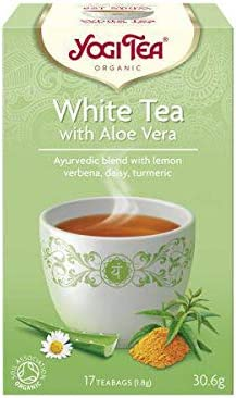Yogi Tea Blanco con Aloe Vera