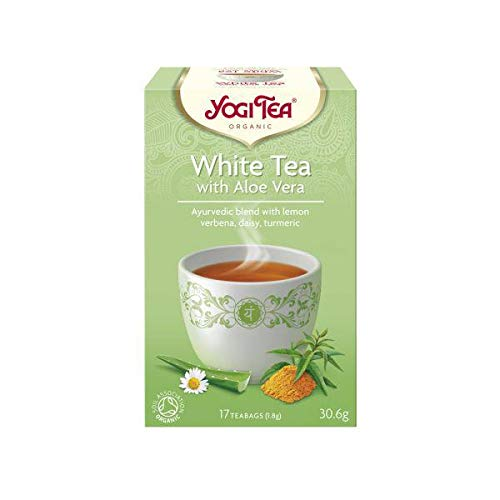 Yogi Tea Original Blanco Aloe Vera Eco, Bolsitas