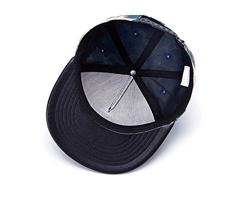 para de Hombre Gorra Unique Taille Béisbol Wanxiangfeng Multicolor Negro qRw6WZ