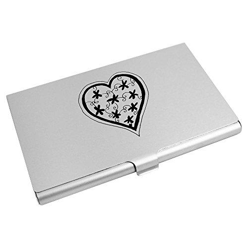 CH00005451 Business Card Heart' Wallet 'Decorative Holder Card Credit Azeeda xwvpqC81