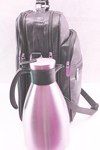 Hombre Bolso de hombro bolsa bolsa de viaje (aspecto de piel Hombres