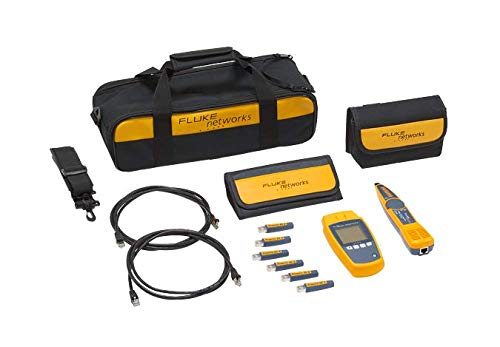 - Fluke Networks MS-POE-KIT MicroScanner Copper Cable Verifier & PoE tester for RJ-45 Category 5-6A Ethernet Cables, Includes IntelliTone Pro 200 & Remote ID Kit