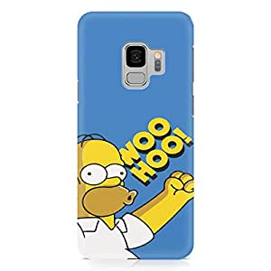 Loud Universe Woo Hoo Homer Simpson Samsung S9 Case The Simpsons Samsung S9 Cover with 3d Wrap around Edges