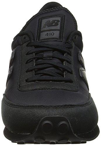New Balance Unisex-Erwachsene 410 Sneaker Schwarz (Black)