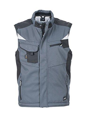 Caldo Interno Giacca In Carbon black Professionale Craftsmen Rivestimento Vest Softshell Con AqA4TnfR