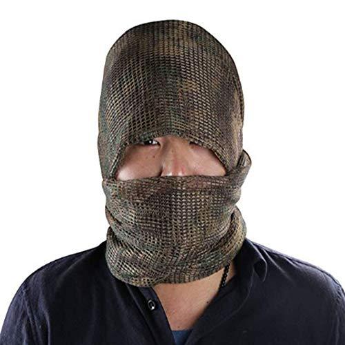 YAOBAO Filet De Camouflage, Filet Tactique en Maille Écharpe Camo Écharpe Sniper Voile Écharpe, Filet pour Les Grands… 6