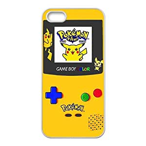 Pokemon Pikachu Pocket Monster Black Phone Case for iPhone 5S
