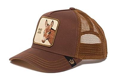 Goorin Bros. Animal Farm 'Bad Bad Ass' Donkey Snapback Trucker Hat Brown