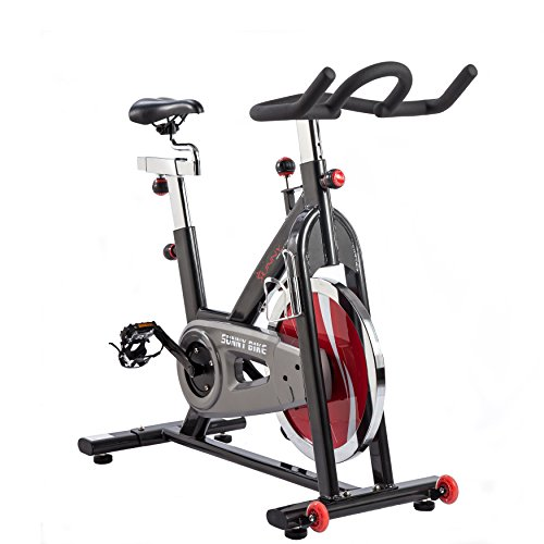 Sunny Health & Fitness Belt Drive Indoor Cycling Bike, Grey by Sunny Health & Fitness (Image #2)