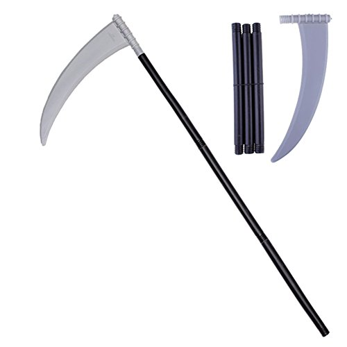 Escolourful Halloween Costumes Devil Sickle Crescent Fork Tricky Toy Props Detachable Party Cosplay Accessory for $<!--$7.92-->