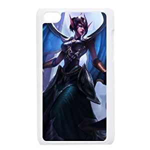 iPod Touch 4 Case White League of legends Morgana Custom KHJSDFUJF2589