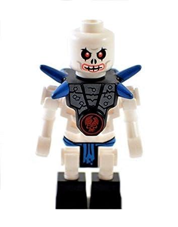 LEGO Ninjago Skeleton Minifigure - Krazi from Set 2260: Amazon.co.uk ...