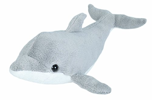 Wild Republic Dolphin plush, Stuffed Animal, Plush Toy, Gifts for Kids, Sea Critters 11 inches