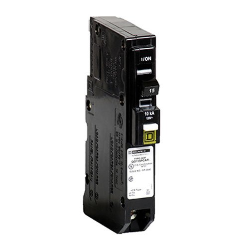 (Square D by Schneider Electric QO Plug-On Neutral 15 Amp Single-Pole CAFCI Circuit Breaker)