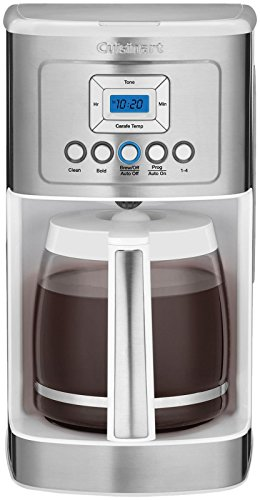 Cuisinart DCC-3200W 14C Glass Carafe with Stainless Steel Handle Programmable Coffeemaker, ()