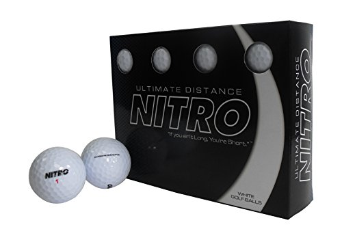 Ultimate Distance Nitro White Golf (Ultimate Distance Ball)