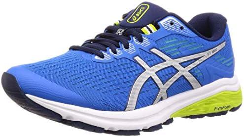 flota Correo aéreo Disparidad  ASICS GT-1000 8 Men's Running Shoes, Electric Blue/Silver, 13 US: Amazon.com.au:  Fashion