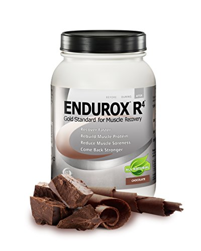 R4 Recovery - Pacific Health  Endurox R4, Chocolate, Net Wt. 4.56 lb., 28 serving