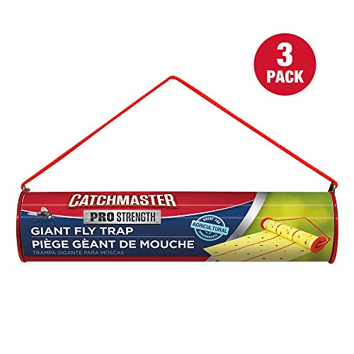 Catchmaster Giant Sticky Fly Trap - 3 Pack