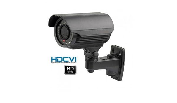 HD-CVI - Cámara de vigilancia HDCVI 1080P IR 40 m con Distancia Focal 2.8 - 12 mm - cam-hdcvi-2748: Amazon.es: Bricolaje y herramientas