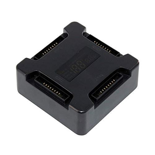 Akku-Ladestation f/ür DJI Mavic Pro Multi Akku Intelligent Charging Hub Schwarz
