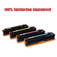 TONER4U ® 4PK New Compatible CRG118 Toner Cartridges Combo Set NON-OEM FOR CANON 118 2662B001AA Black 2661B001AA Cyan 2660B001AA Magenta 2659B001AA Yellow with Canon ImageClass LBP7200Cdn, LBP7660Cdn, MF8350cdn, MF8380Cdw