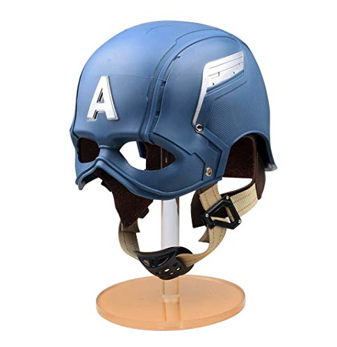 (Gmasking 2016 America Soldier Wearable Cospaly Helmet 1:1 Props Replica Blue)