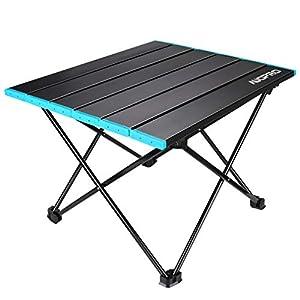 AUOPRO アウトドアテーブル キャンプテーブル ロールテーブル 収納袋付 耐荷重30KG