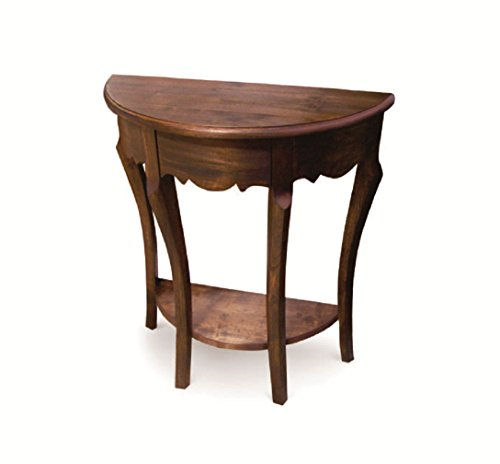NES Furniture abc10110 Wimberley Hallway Table Fine Handcrafted Solid Teak Wood 26