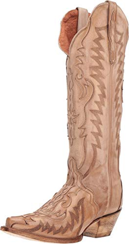 Dan Post Boots Womens Hallie Casual Western Shoes, Bone, 8.5 (Beige Cowboy Boots)