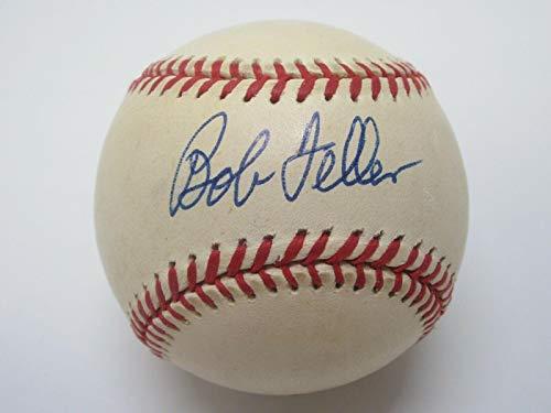 Signed Bob Feller Ball - OAL COA - JSA Certified - Autographed Baseballs