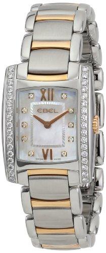 """EBEL Women's 1215922 """"Brasilia"""" Stainless Steel Two-Tone Watch"""