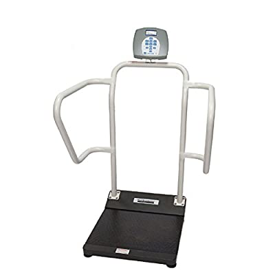 "Health O Meter 1100KL Digital Patient Scale, Capacity 1000 lbs, Platform Dimension 15-3/4"" x 22"""