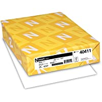 Neenah Paper Exact Index, 110 lb, 8.5 x 11, 250 Sheets, White, 94 Brightness (WAU40411)