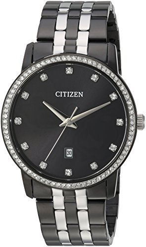 Citizen Men's ' Quartz Stainless Steel Casual Watch, Color:B...