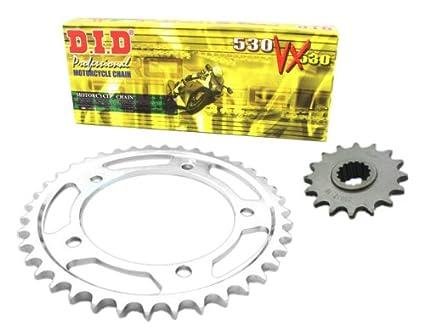 Amazon.com: D.I.D KA.005.01-933.01.6 Hyper-Reinforced X-Ring ...