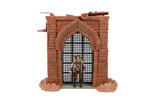 McFarlane Toys Prince of Persia Deluxe Box Playset - Alamut Gate with 4